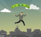 Parachute Money Man