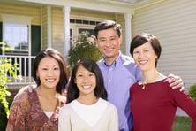 family-home-portrait